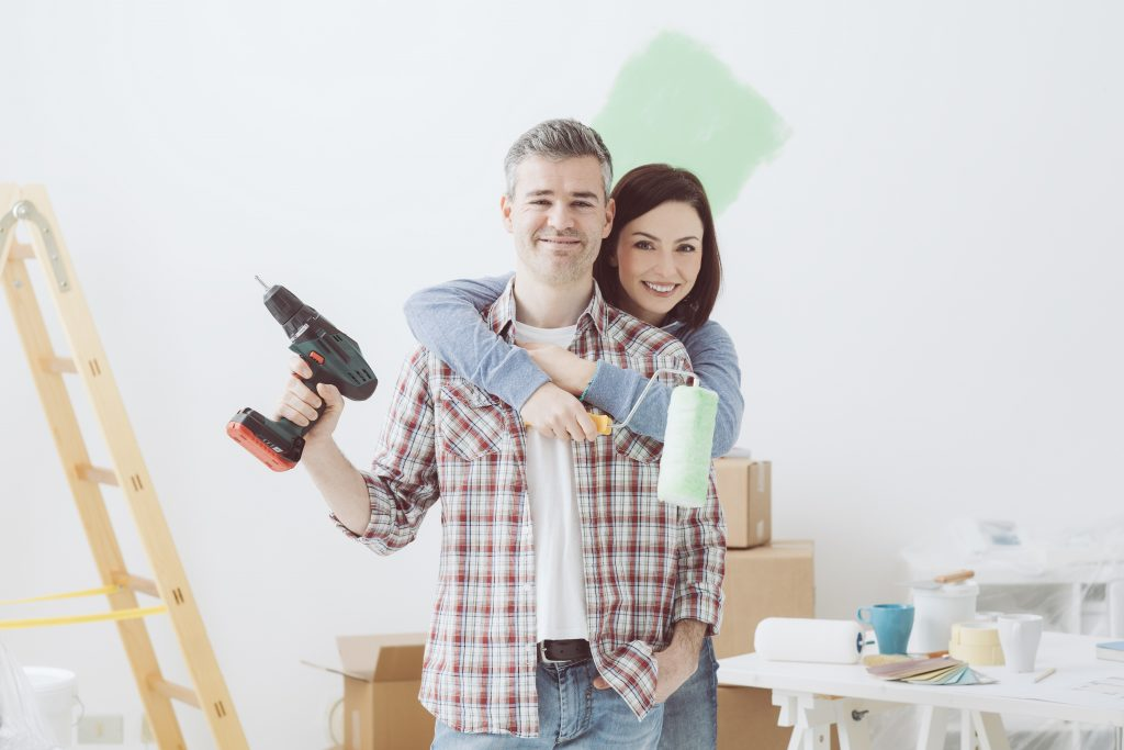 TVFCU Couple remodeling